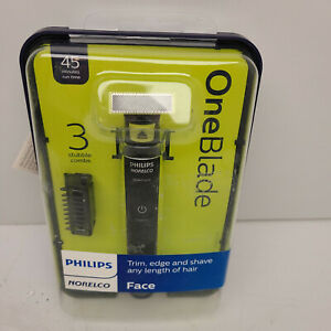 Mens Shaver Philips Norelco OneBlade Hybrid Electric Trimmer and Shaver New