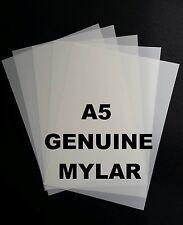 1 x A5 Mylar Sheets 190 Micron Making Airbrush Stencils Craft Laser Safe mic ART