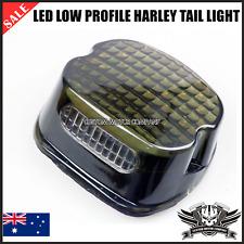 LED Smoke Tail Brake Light Low Profile Harley Dyna Road King glide Electra XL883