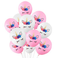 10pcs 10inch Unicorn Latex Balloon Birthday Party Decor Children Party Supplies