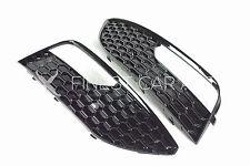Für Audi A3 8V VFL Nebelscheinwerfer Blenden Schwarz Sportback 3 Türer RS Design