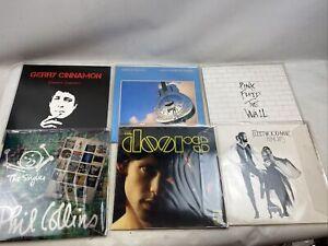 vinyl record vinyl lot of 6-classic artists