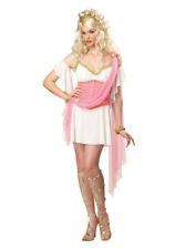 Womens Sexy Pink Love Goddess Princess Adult Halloween Costume Outfit L