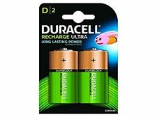 Duracell Rechargeable D Size 2200mAh Batteries - Pack of 2