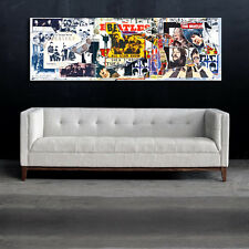 Mural Poster The Beatles Anthology 20x60 inch (50x150 cm) on 8mil Paper