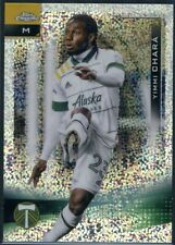 New listing 2021 Topps Chrome MLS Yimmi Chara Speckled Refractor SP