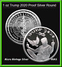 Trump 2020 Silver Shield 1oz Proof 2020 .999 Silver PRESALE