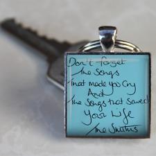 The Smiths Keyring Morrissey keyring lyrics smiths songs gift handmade unique