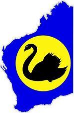 Adesivi adesivo moto auto sticker bandiera decal mappa australia occidentale