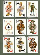 Playing Cards Folklore pretty double deck in special box  #026