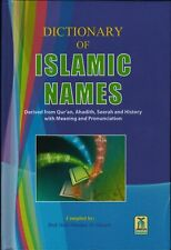Dictionary of Islamic Names By Hafiz Shaukat Ali hareer