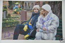Claudia Eisinger & Laura Tonke signed 20x30cm Foto , Autogramm / Autograph