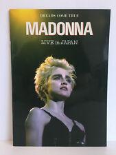 Madonna LIVE in Giappone | Concert Program | PROMO | tour giapponese LIBRETTO