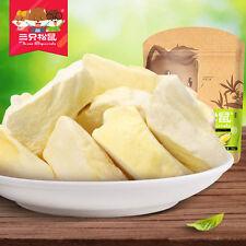 Chinese Food Snacks Three Squirrels Durian Dry Golden Pillow三只松鼠_冻干榴莲金枕头榴蓮干36g*4
