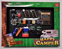 New Phoenix Garage Diorama Accessory Set - Happy Camper 1/24 1:24 gift