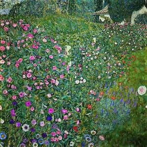 Gustav Klimt Landscape 1 Poster Reproduction Paintings Giclee Canvas Print