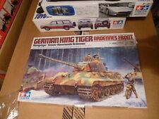 Tamiya 1:35 Tigre rey alemán frente de las Ardenas