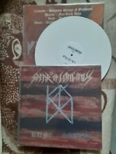SPEAR OF LONGINUS-rune/goetia-white-LP-black metal