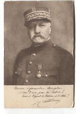 Gen. De Castelnau - 1927 Federation Nationale Catholique card, Nogent-le-Rotrou