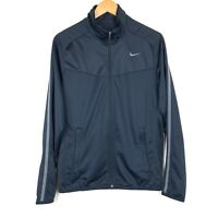 Nike Mens Epic Jacket Sz Small Blue Full Zip 519534-495 Atheisure Workout