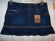 LEI DENIM SKIRT SZ 11 NWT