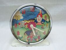 Vintage Noddy Animated Alarm Clock By Smiths Timecal - Lot 2