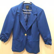 XOXO Womens Quilted Peplum Jacket