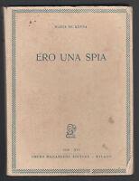 MARTA MC. KENNA-ERO UNA SPIA OMERO MARENGONI ED. 1938-O259