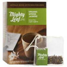 Mighty Leaf Organic Spring Jasmine Tea 15 Tea Pouches - Best By Date 11/2018