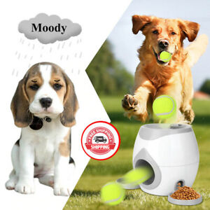 Pet Ball  Toy Dog Tennis Food Reward Machine Slow Feeder For Cats Dogs