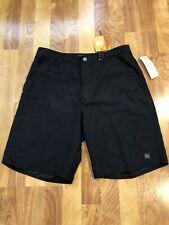 NWT Quiksilver Waterman Huntington Beach Swim shorts , Size 30, Black