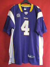 Maillot Vikings du Minnesota football Americain USA Brett Favre n° 4 Jersey - 52