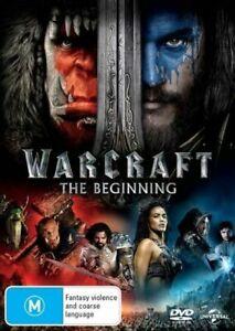WARCRAFT: The Beginning (DVD, 2015) Region 4 ACTION ADVENTURE