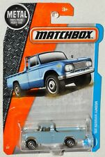 Matchbox 2017 #7 62 Nissan Junior blue MOC VHTF Metal Parts