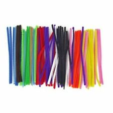 Assorted Coloured Pipe Cleaners Pack of 500 15cm | Acrylic | Arts and Craft