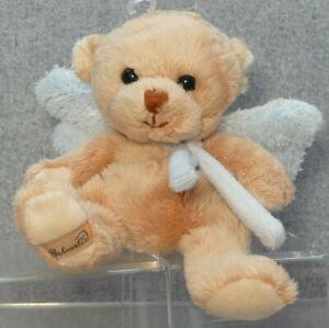 Guardian Angel With Baby Blue Wings Bukowski Teddy Angel Collection 15cms