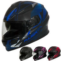 Fulmer 150 Mirage Graphic Mens Street Riding DOT Full Face Motorcycle Helmet