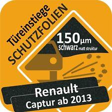Renault Captur Lackschutzfolie Türeinstiege Schweller Schutzfolie