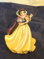Authentic Original Disney Disneyland Theme Parks Snow White Resin Figurine