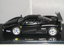 X5511 Hotwheels Elite Ferrari Enzo 2003 Monza Test Car Matt Black 1:43 Diecast