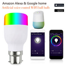 Smart Bulb App Control Multicolor Wifi Dimmable Light Bulb LED Lamp For Alexa