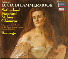 3-CDs DONIZETTI:LUCIA DI LAMMERMOOR London 410193 BONYNGE unplayed Near Mint