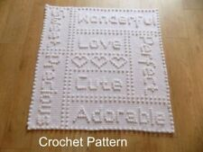 Blankets DK/Double Knit Crochet Patterns Patterns