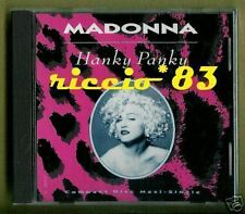 Madonna -  Hanky Panky - CDs SINGOLO USA 2 REMIX + 1 MINT SEALED