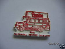 NATIONAL MOTOR MUSEUMBUS PICTURE BADGE