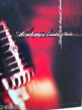 2001 Country Music Awards Hard Cover Program