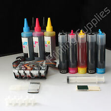 CISS & extra set Ink PGI-220 CLI-221 for Canon MP560 MP620 MX860 IP3600 w/Chip