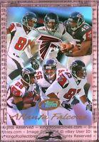ATLANTA FALCONS TEAM CARD f/ Vick Price Crumpler Dunn 2004 eTopps IN HAND Card