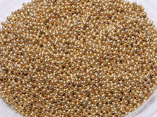T231 Shiny Gloss Gold Round Spacer Beads DIY Jewellery Making 3mm 1000pcs