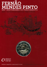 manueduc  PORTUGAL BLISTER OFICIAL  2 euro 2011 BU Mendes  BARCO sólo 12.500